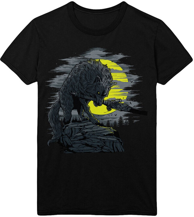 Tričko Dark Souls - Great Grey Wolf (XL)
