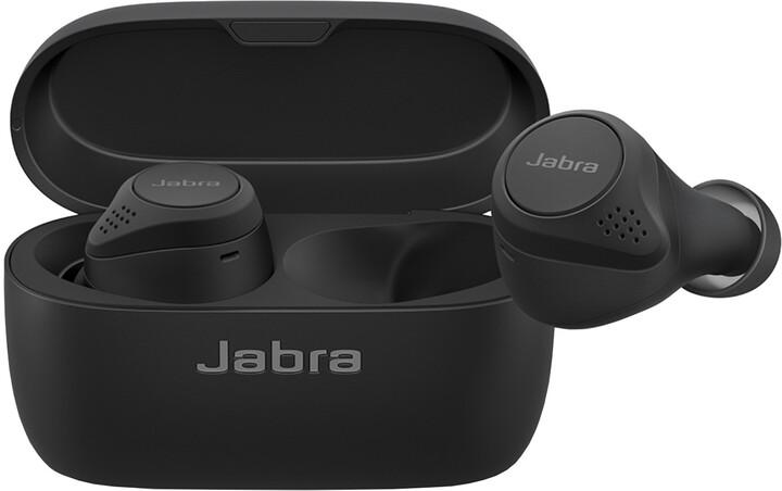 Jabra Elite 75t WLC, černá