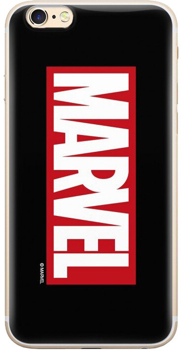 MARVEL 001 zadní kryt pro iPhone XS. černá
