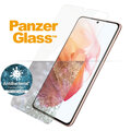 PanzerGlass ochranné sklo Edge-to-Edge pro Samsung Galaxy S21 5G, antibakteriální, čirá