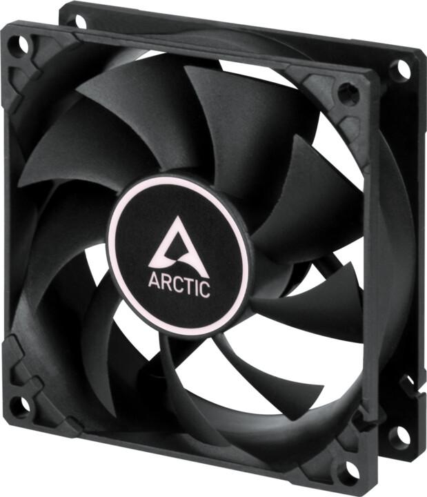 Arctic F8 TC, černá