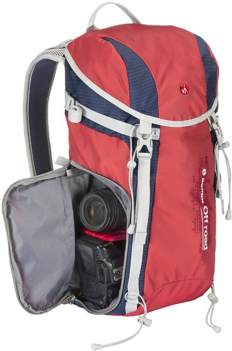 Manfrotto Off road HIKER 20L, červená