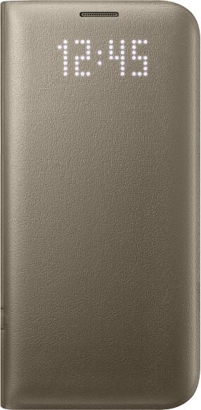Samsung EF-NG935PF LED View Cover Galaxy S7e, Gold