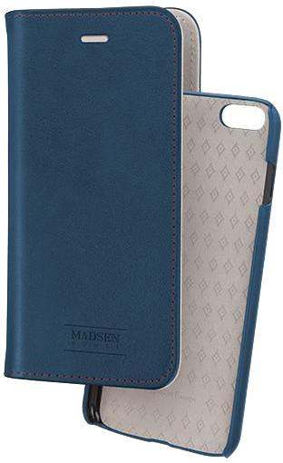 Madsen knížkové pouzdro 2 v 1 magnotické pro Apple iPhone 6/6s plus, modré