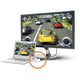 J5CREATE JDA154 DisplayPort to HDMI Adapter