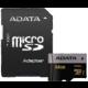 ADATA Micro SDXC Premier Pro 64GB UHS-I U3 + adaptér