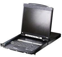 "ATEN CL5816N - 16-portový KVM switch USB, 19"" LCD, US klávesnice - CL5816N-ATA-2XK06A1G"