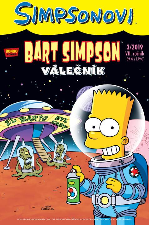 Komiks Bart Simpson: Válečník, 3/2019