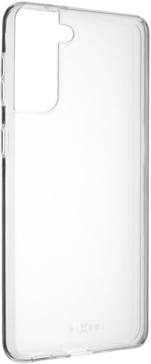 FIXED gelové pouzdro pro Samsung Galaxy S21+, transparentní