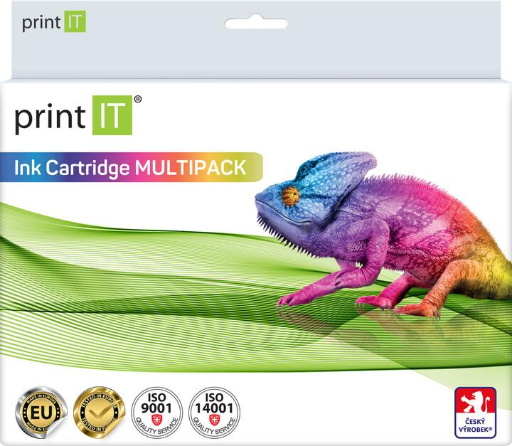 PRINT IT alternativní HP sada 932XL BK + 933XL 2xBk/C/M/Y