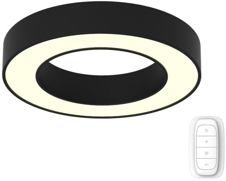 IMMAX NEO PASTEL Smart stropní svítidlo 60cm 52W černé Zigbee 3.0