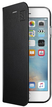 TUCANO Libro Eco Leather Booklet pouzdro pro IPhone 6/6S, černá
