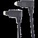 PremiumCord kabel Toslink 90° - Toslink 90°, M/M, tloušťka 4.0mm, 1m, černá