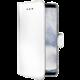 CELLY Wally pouzdro typu kniha pro Samsung Galaxy S9 Plus, PU kůže, bílé