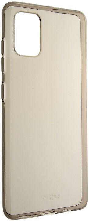 FIXED TPU gelové pouzdro Slim pro Samsung Galaxy A51, 0.6 mm, kouřová