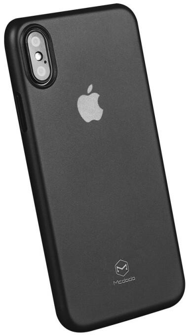 Mcdodo iPhone X Ultra Slim Air Jacket Case (PP), Black