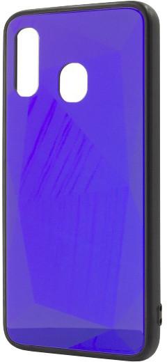 EPICO COLOUR GLASS Case pro Samsung Galaxy A40, tmavě fialová