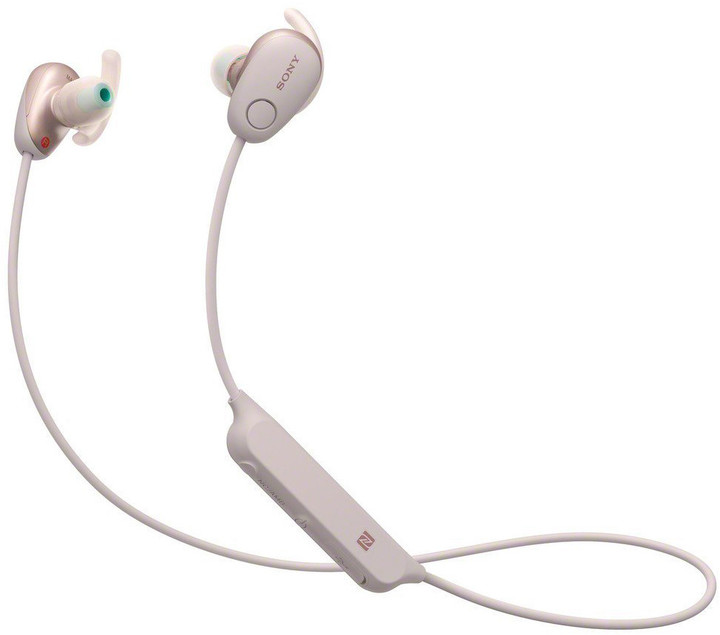 Sony WI-SP600N, růžová