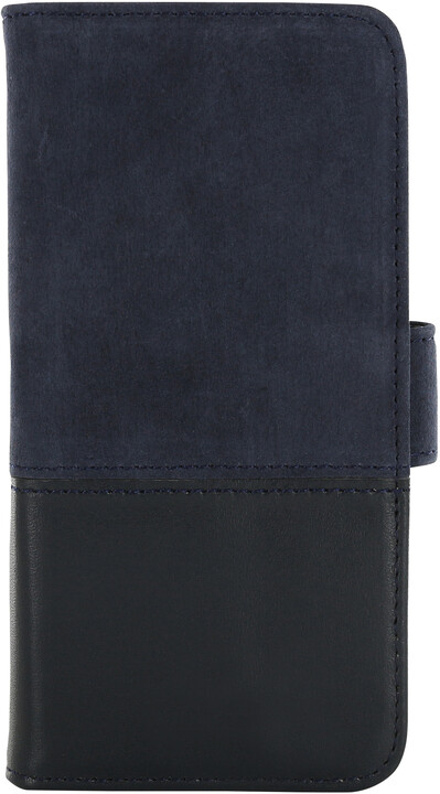 Holdit Wallet Case Apple iPhone 6s,7,8 - Blue Leather/Suede