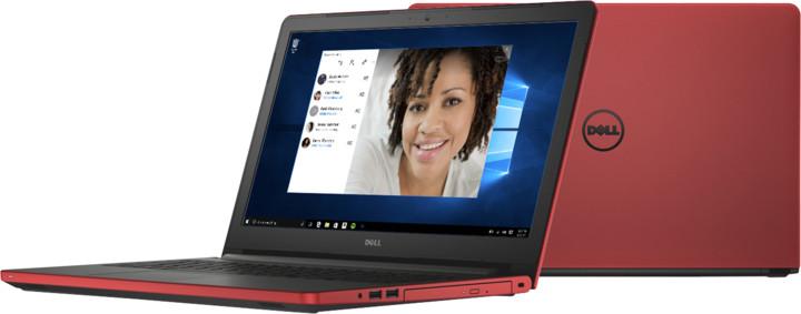 Dell Inspiron 15 (5559), červená