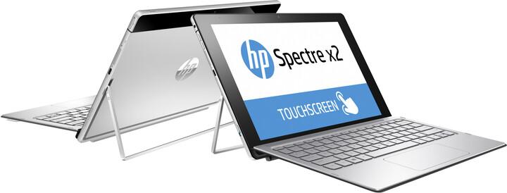HP Spectre x2 12 (12-a000nn), stříbrná