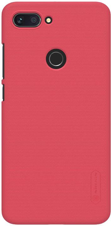Nillkin Super Frosted zadní kryt pro Xiaomi Mi8 Lite, červená