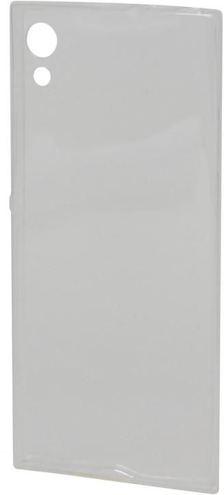 EPICO plastový kryt pro Sony Xperia XA 1, RONNY GLOSS - bílá transparentní
