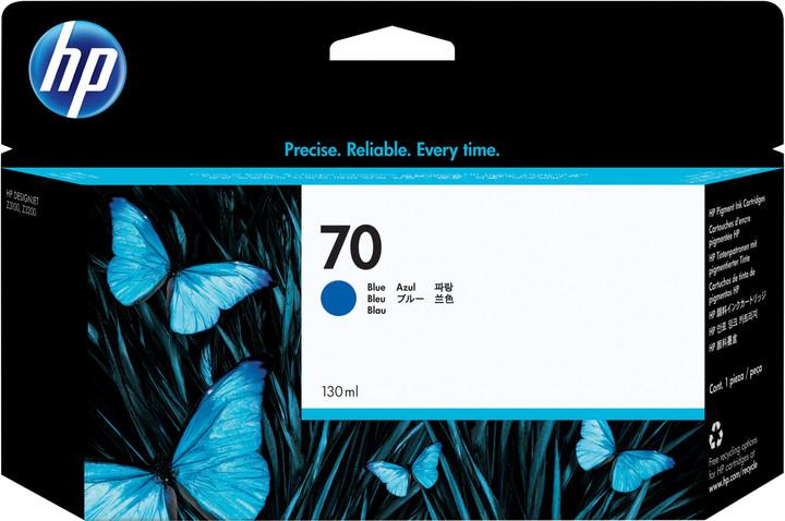 HP C9458A no. 70, (130ml), blue