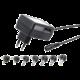 GEMBIRD Univerzální AC-DC adaptér EG-MC-008, 12W, 7 konektorů