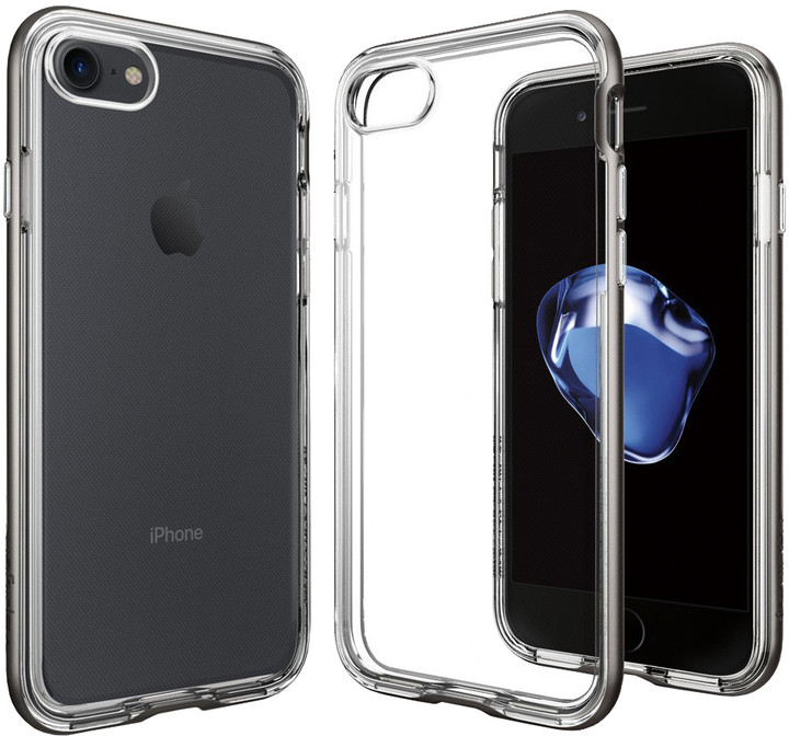 Spigen Neo Hybrid Crystal pro iPhone 7, gunmetal
