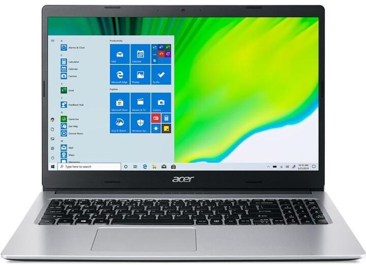 Acer Aspire 3 (A315-23-R9JB), stříbrná