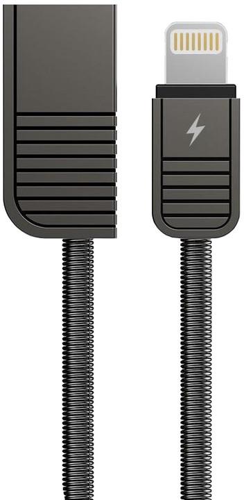 Remax RC-088i, datový kabel na iPhone 5,6,7,SE, délka 1m, černá