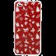 EPICO pružný plastový kryt pro iPhone 7 Plus/8 Plus RED XMAS  + EPICO Nabíjecí/Datový Micro USB kabel EPICO SENSE CABLE