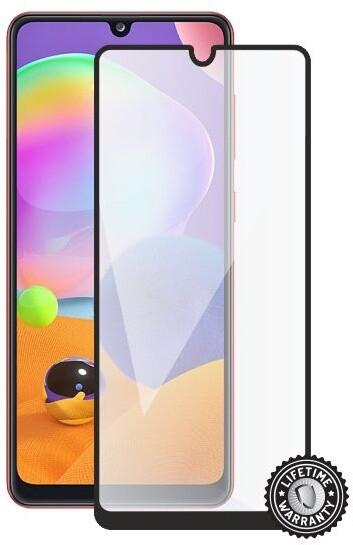 Screenshield ochrana displeje Tempered Glass pro Samsung Galaxy A31, full cover, černá