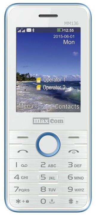 Maxcom MM136 White/Blue