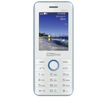 Maxcom MM136 White/Blue - MM136BINIEB