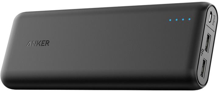 Anker Powerbanka PowerCore 20100mAh externí baterie, černá