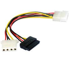 Gembird CABLEXPERT kabel SATA napájecí 15cm 1x 5,25 na 1x 5,25 a 1xSATA - CC-SATA-PSY2