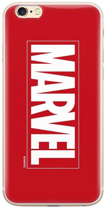 MARVEL 001 zadní kryt pro iPhone XS, červená