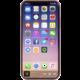 Krusell zadní kryt SANDBY pro Apple iPhone X, rezavá