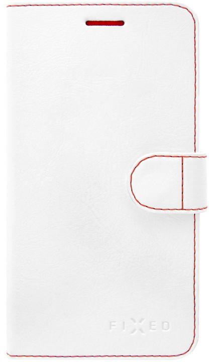FIXED FIT pouzdro typu kniha pro Xiaomi Redmi 5 Global, bílé