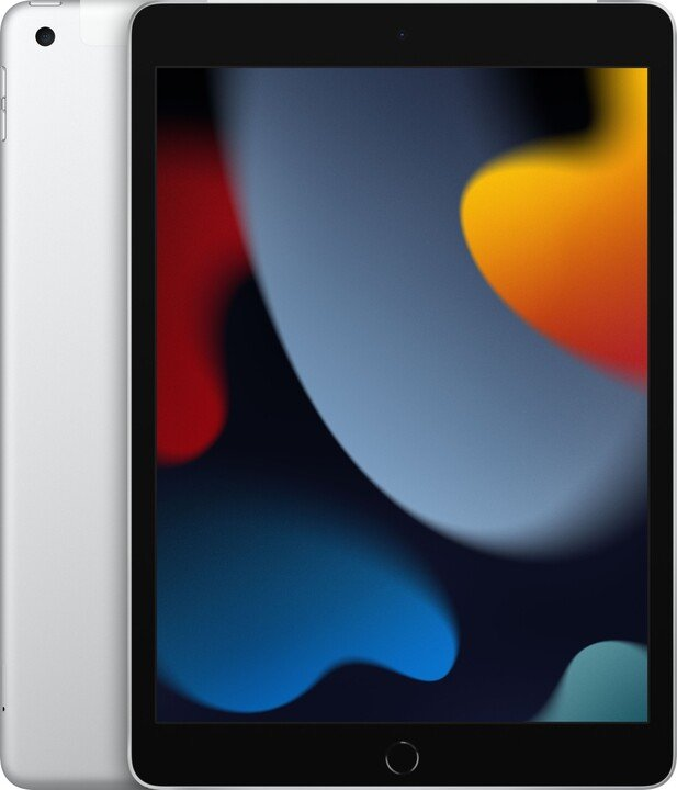 Apple iPad 2021, 256GB, Wi-Fi + Cellular, Silver