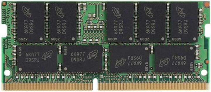 Kingston Server Premier 16GB DDR4 2666 ECC SO-DIMM, CL19, 2Rx8, Micron