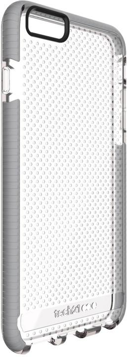 Tech21 Evo Mesh zadní ochranný kryt pro Apple iPhone 6 Plus/6S Plus, šedočirý