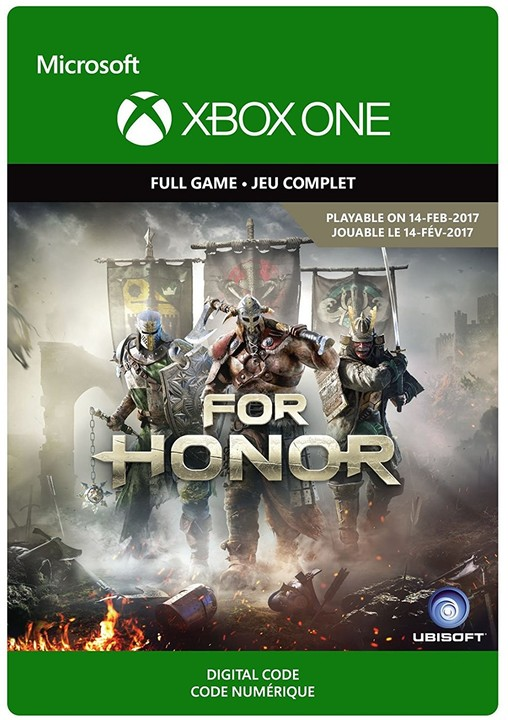 For Honor: Standard Edition (Xbox ONE) - elektronicky