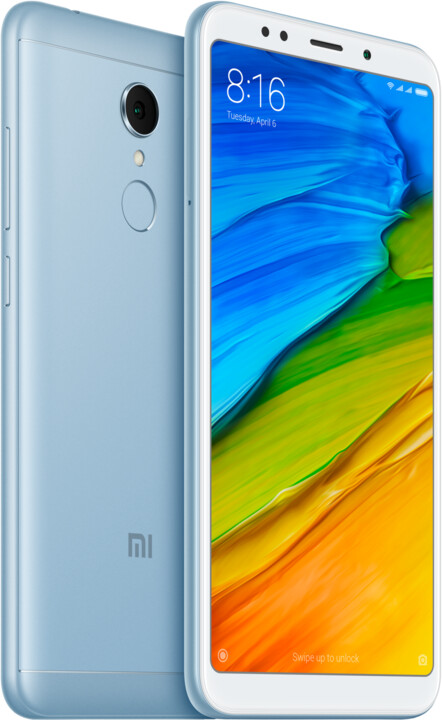 Xiaomi Redmi 5 Global - 16GB, modrá