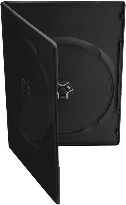 Cover It box:2 DVD 7mm slim černý - karton 100ks