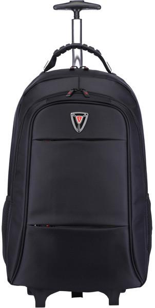 SUMDEX RED(S) batoh s kolečky pro notebook BT-360, černý