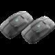 CellularLine Interphone EDGE Bluetooth handsfree pro uzavřené a otevřené přilby, Twin Pack
