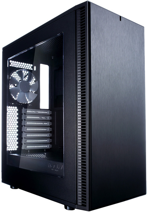Fractal Design Define C, okno, černá
